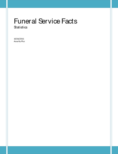 funeral facts