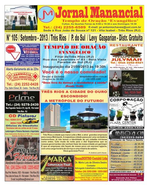 Jornal de Setembro de 2013