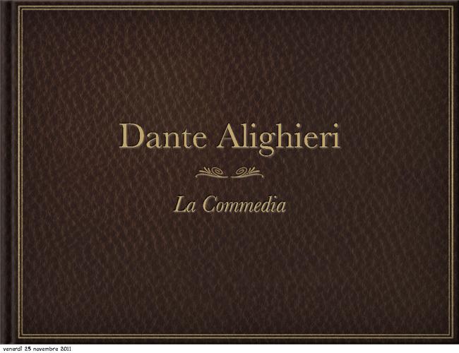 Dante Alighieri - La Commedia