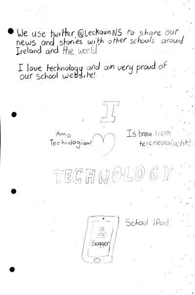 Technology in Leckaun National School
