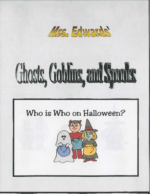 Ghosts, Goblins, and Spooks