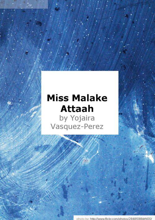Miss Malake Attalah