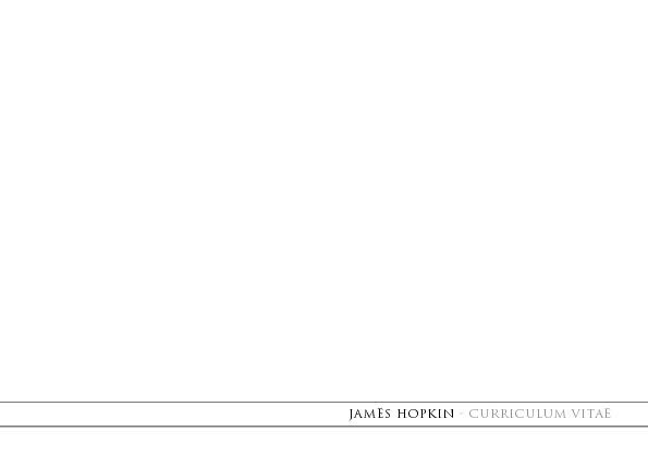 James CV