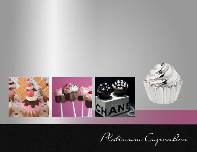 Platinum Cupcakes