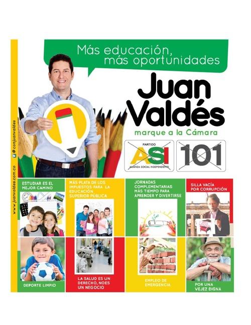 Informe a la ciudadanía del Representante Juan Valdés