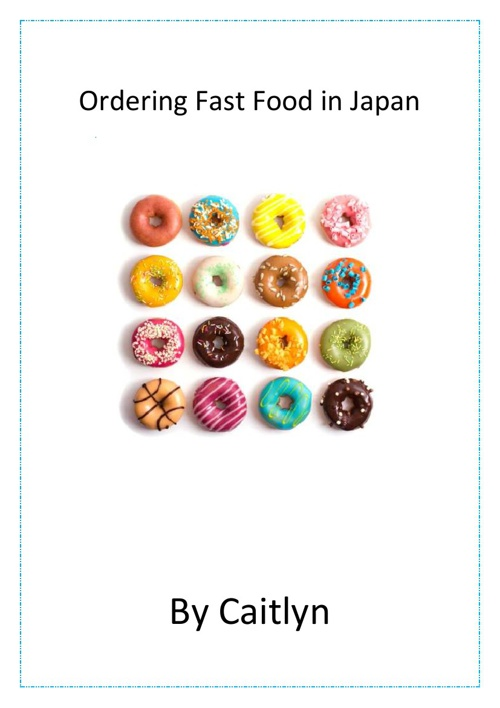 Ordering Fast Food in Japanese