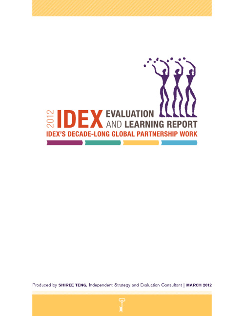 IDEX Evaluation and Learning Report