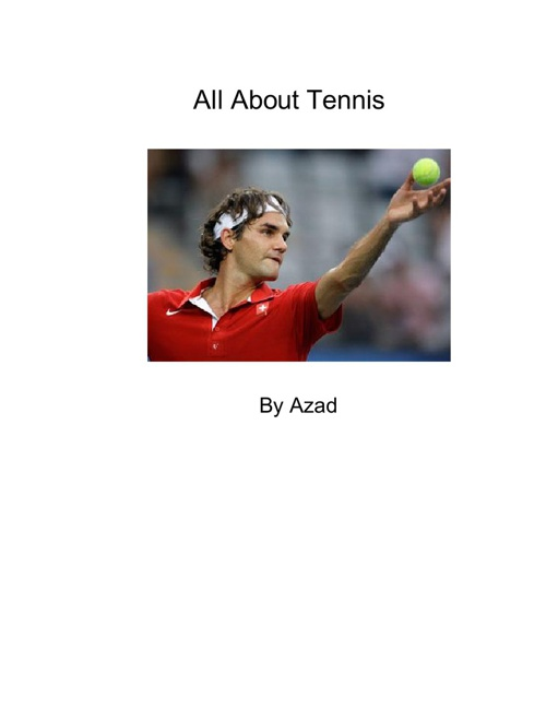 All About Tennis by Azad
