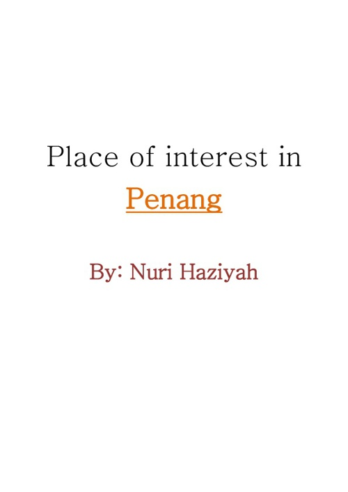 Place of interest in Penang, Malaysia.