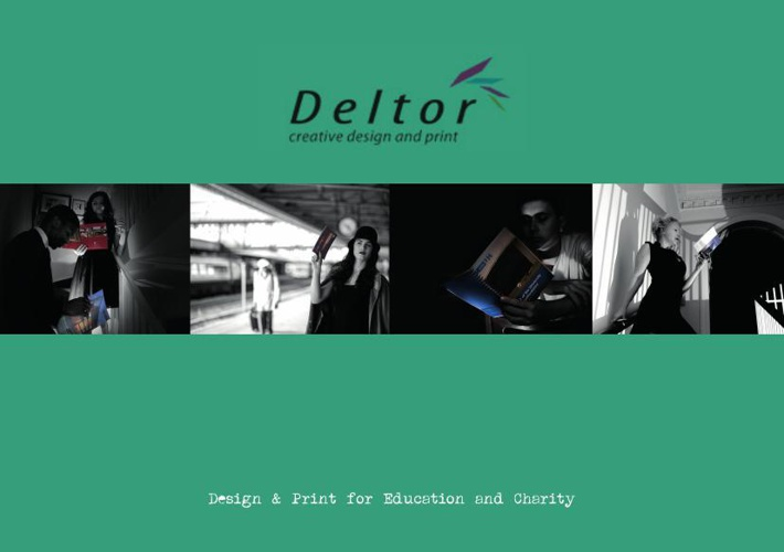 Deltor education and charity brochure