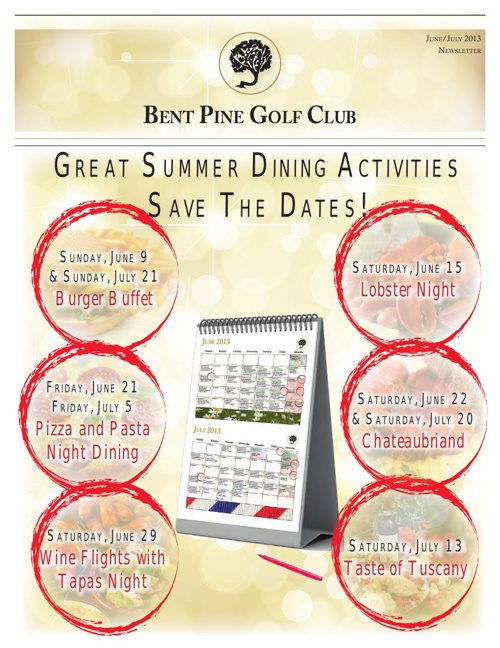 Bent Pine Newsletter June/July