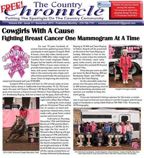 Country Chronicle -  November 2015