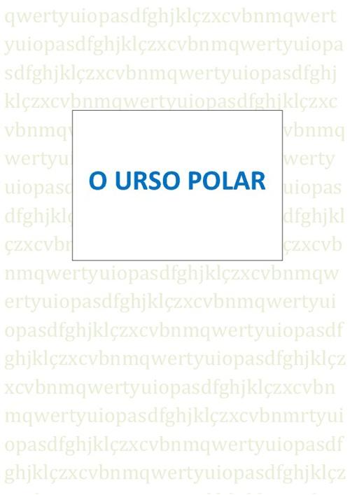 O Urso Polar