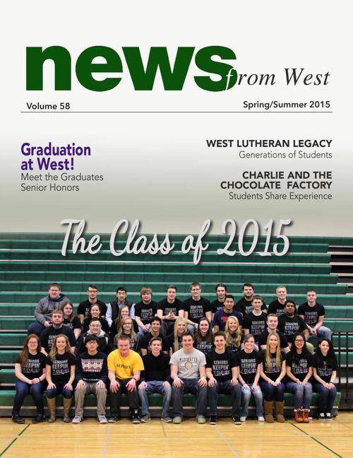2015 Spring/Summer News from West Newletter
