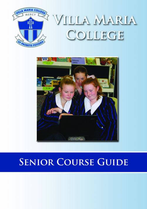 Villa Senior Course Guide 2017