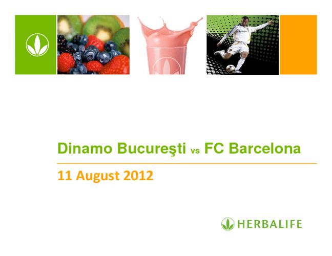 Dinamo vs FC Barcelona