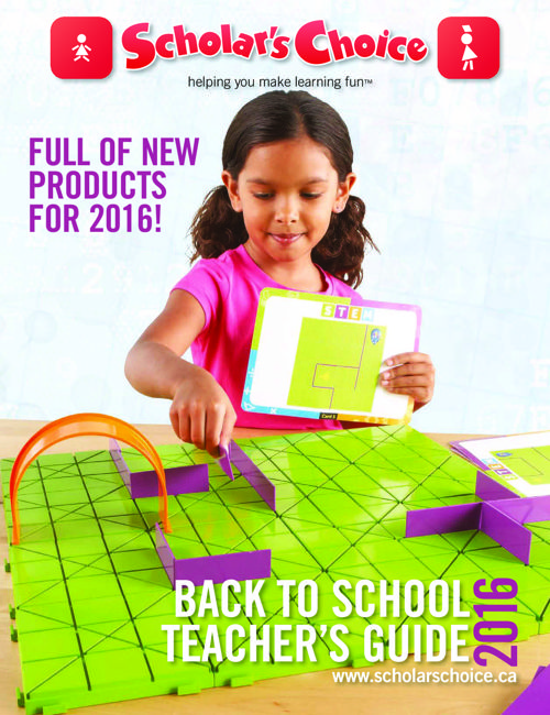 Scholar's Choice 2016 Back to School Guide