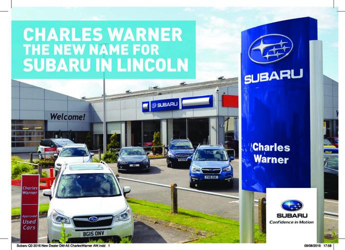 Subaru Charles Warner