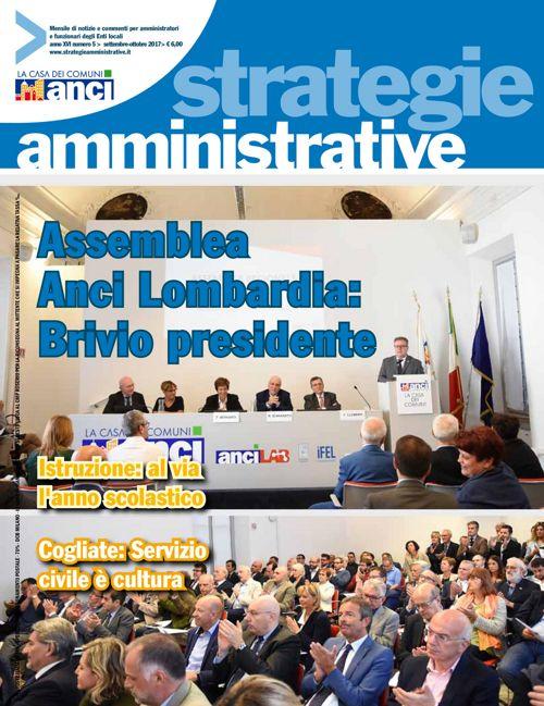 Strategie Amministrative - Settembre Ottobre 2017