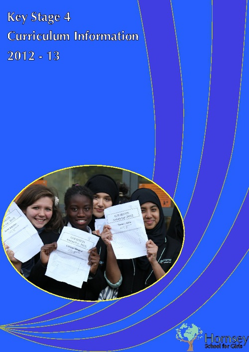 Curriculum Information 2012-13