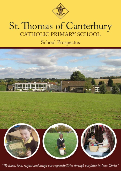 St Thomas of Canterbury School Prospectus