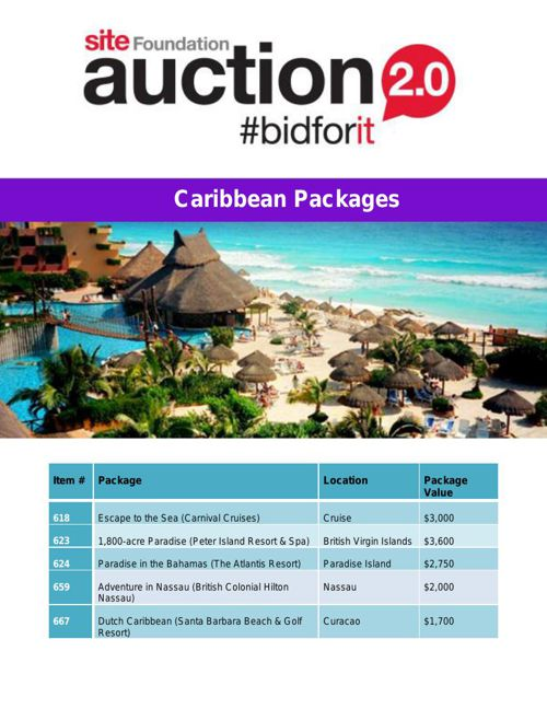 Caribbean Packages