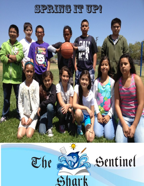 April School Magazine: Spring ItUp!