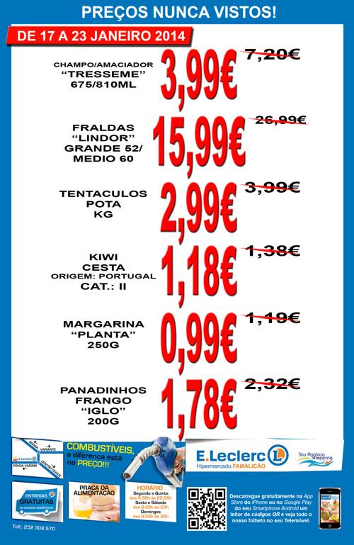 Folheto Loja 17 a 23/01/2014