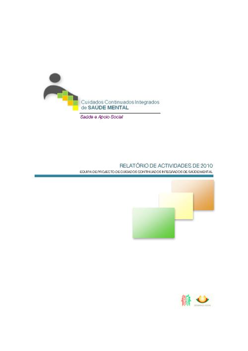 Relatório de Actividades 2010 - EPCCISM