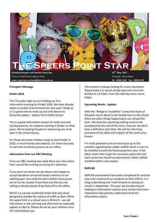 Term 2 Week 4 Newsletter