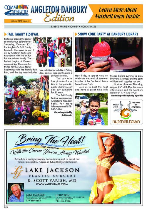 Angleton-Danbury Community Newsletter Volume 4 Issue 4