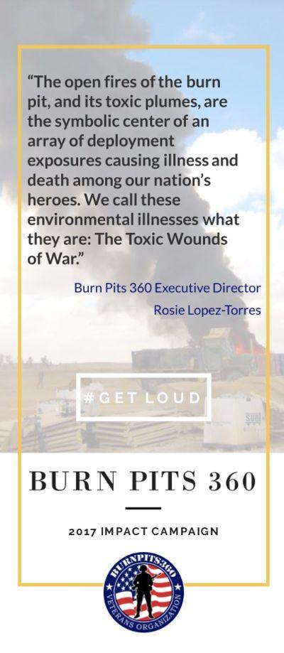 BurnPits 360 2017 #GetLoud Impact Campaign