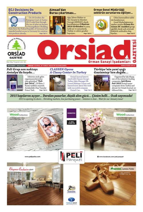 Orsiad Gazetesi 2012- 2014