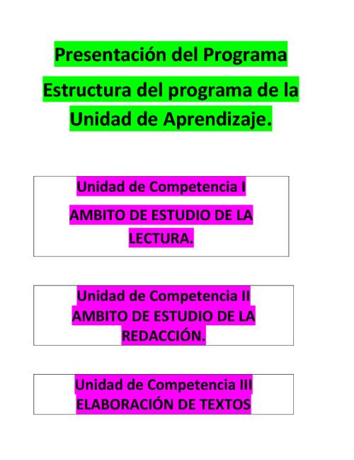 Present Programa