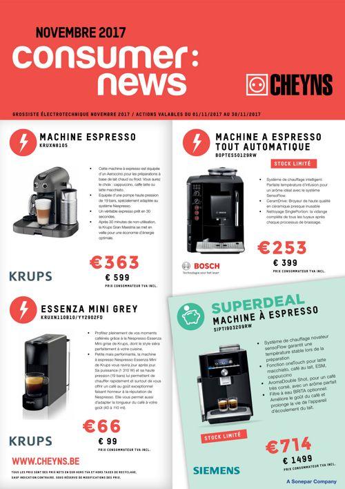 Consumer News Novembre 2017 - FR