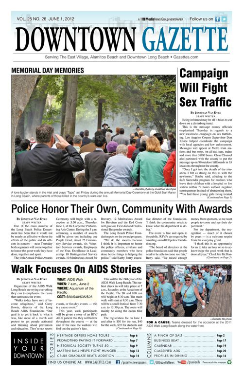 Downtown Gazette  |  June 1, 2012