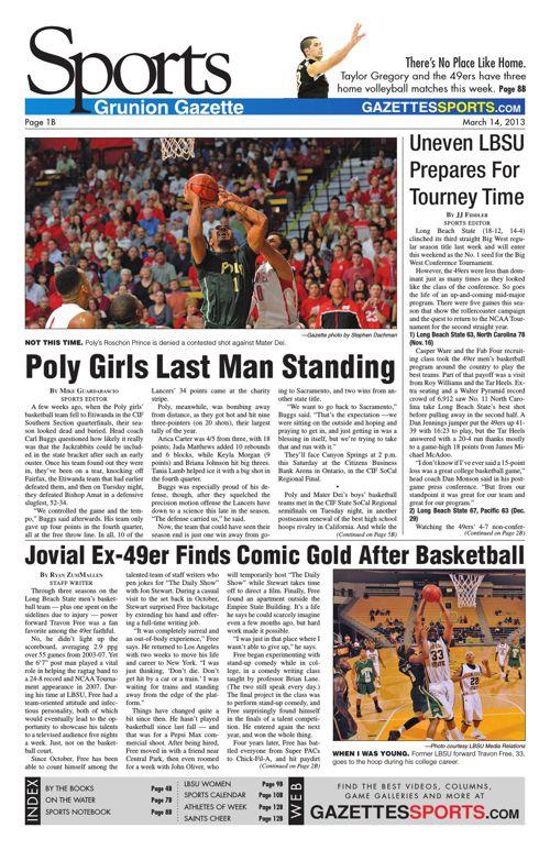 Gazette Sports | March 14, 2013