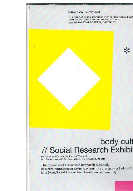Body Culture Exhibition Book