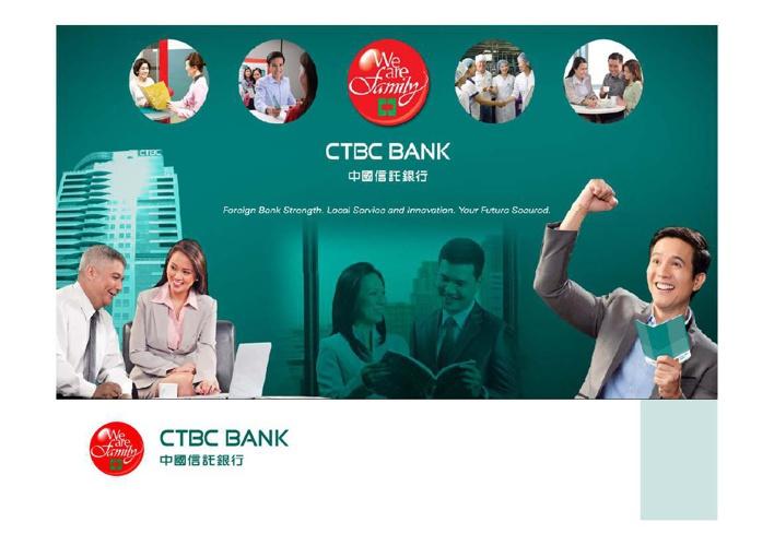 CTBC BANK sales presentation - Generic-temp