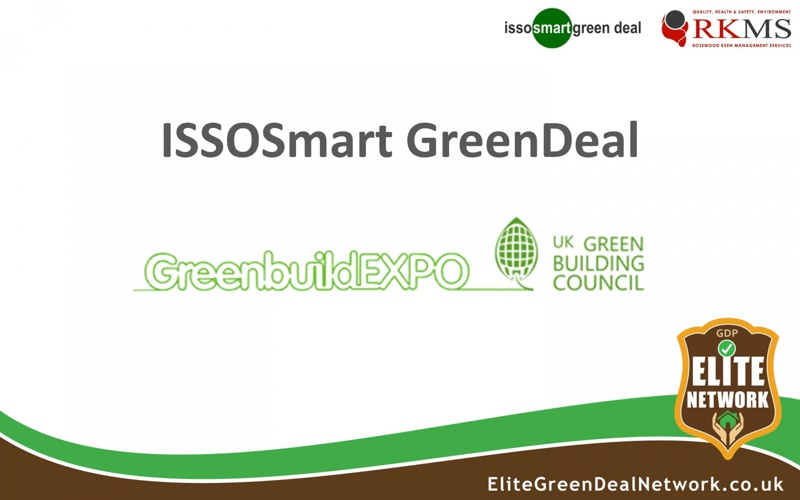 Greenbuild Expo - ISSOSmart, RKMS and Elite Network
