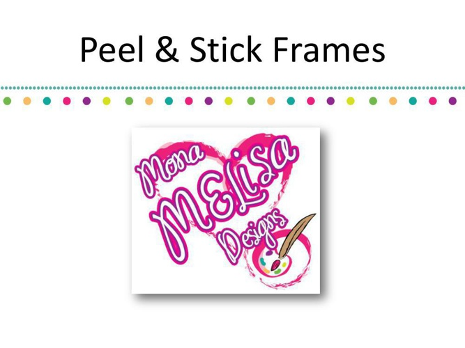 4 x 6 Peel & Stick Picture Frames