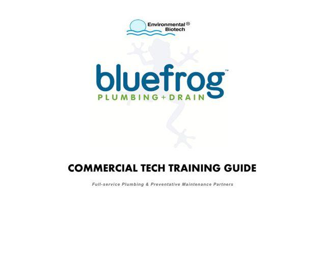 Commercial Tech Training Guide - Blue Frog Nov 2014