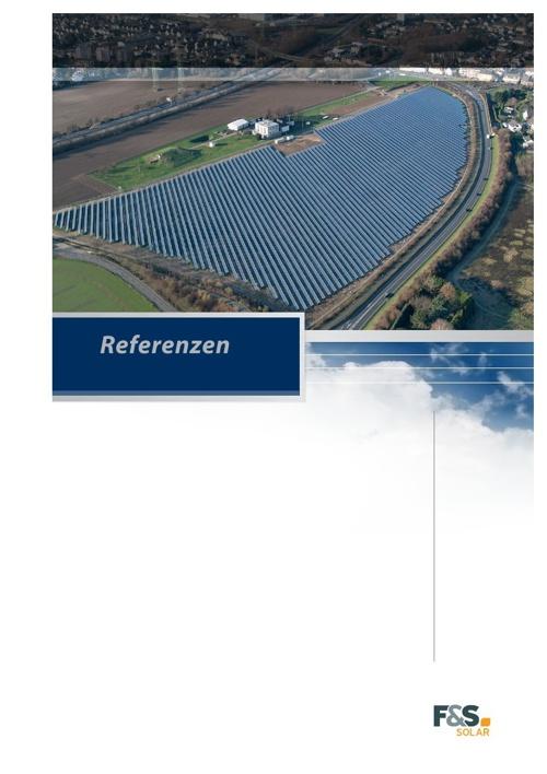 F&S solar - Referenzmappe