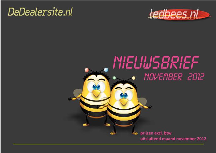 DeDealersite - 2012-11 Nieuwsbrief