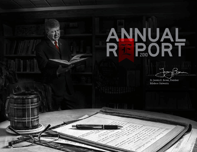 Edinboro University - Annual Report