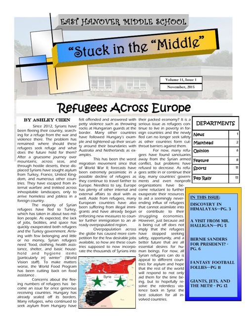 Stuck in the Middle - November 2015
