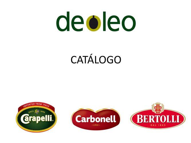CATALOGO DEOLEO COMERCIAL 2016