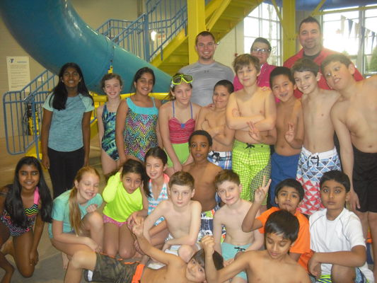 YMCA Aquatics Field Trip