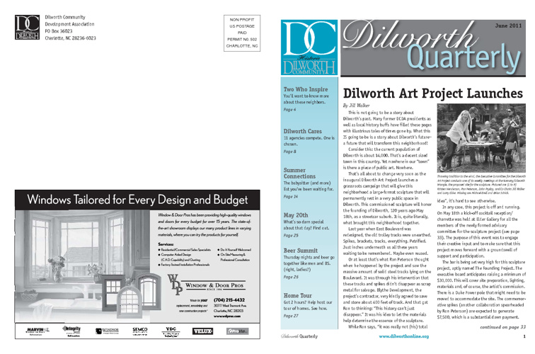 Spring Dilworth Quarterly