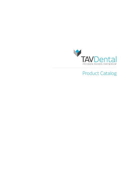 Catalog TavDental